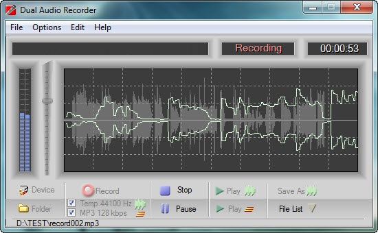 Adrosoft Dual Audio Recorder 2.0