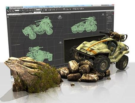 GameInstitute - 3D Modeling and Animation