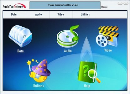 AudioTool Media Magic Burning Toolbox 6.2.1