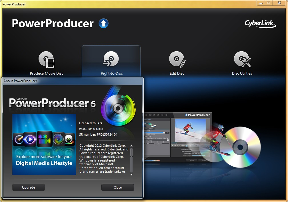 CyberLink PowerProducer Ultra 6.0.2103