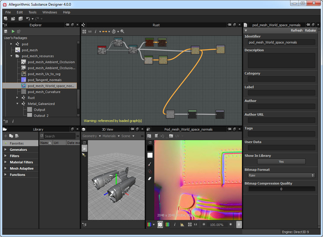 Allegorithmic Substance Designer v4.0.1 Build 13096 (Mac OSX)