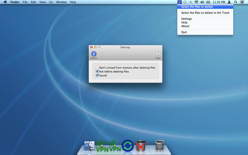 Trash Without v1.2 Mac OS X
