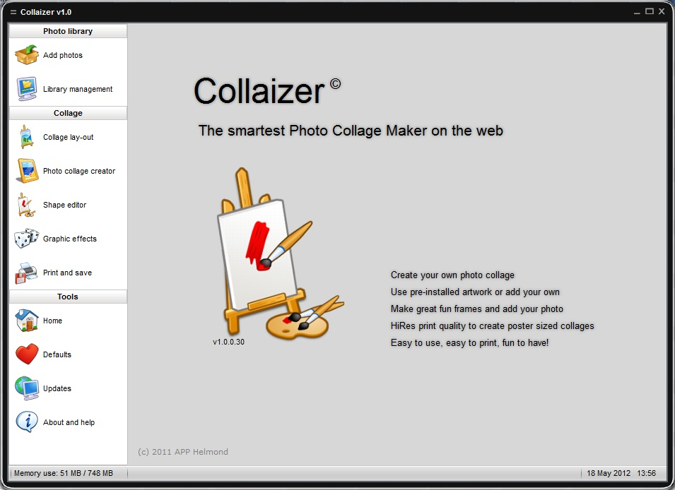Collaizer version 1.0 build 30