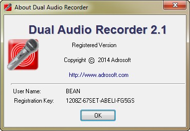 Adrosoft Dual Audio Recorder 2.1