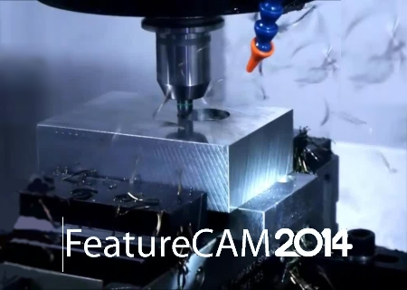 Delcam FeatureCAM 2014 R2