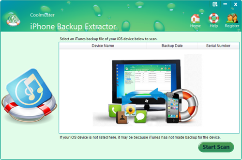Coolmuster iPhone Backup Extractor 2.1.8