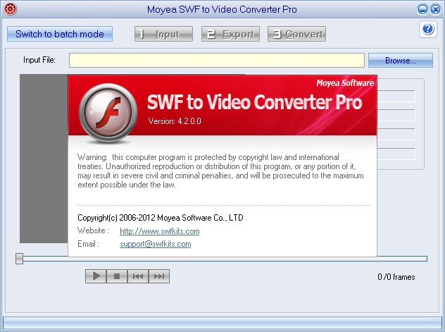 Moyea SWF to Video Converter Pro 4.2.0.0
