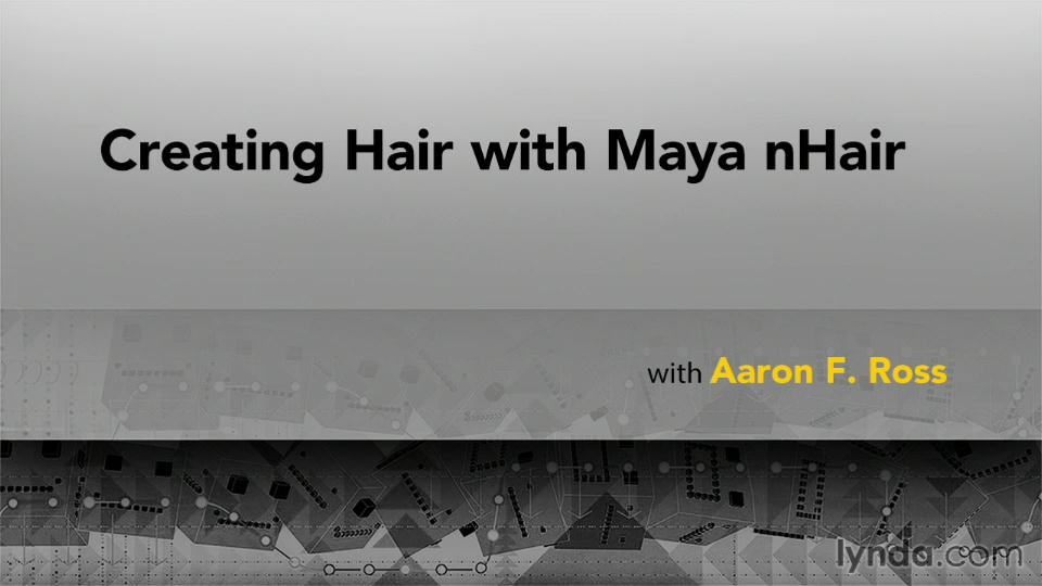 Creating Hair with Maya nHair