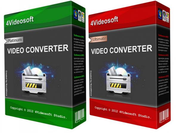 4Videosoft Video Converter Platinum & Ultimate 5.2.6.20881