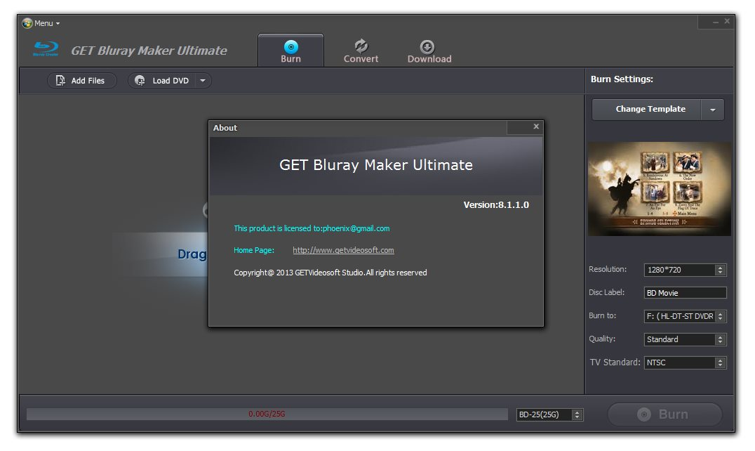 GET Blu-ray Maker Ultimate