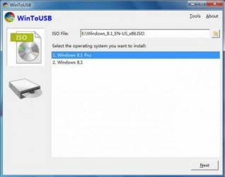 WinToUSB 1.3 Portable