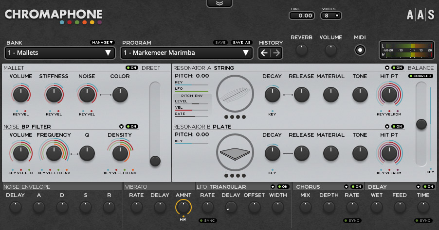 Applied Acoustics Chromaphone 1.0.5 WIN OSX