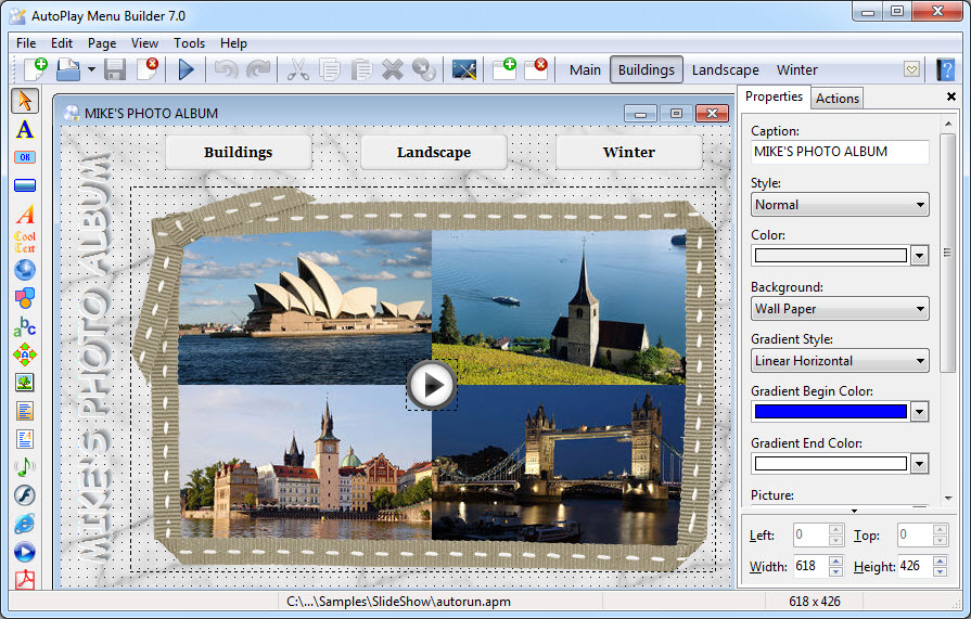 AutoPlay Menu Builder 7.0 Build 2188