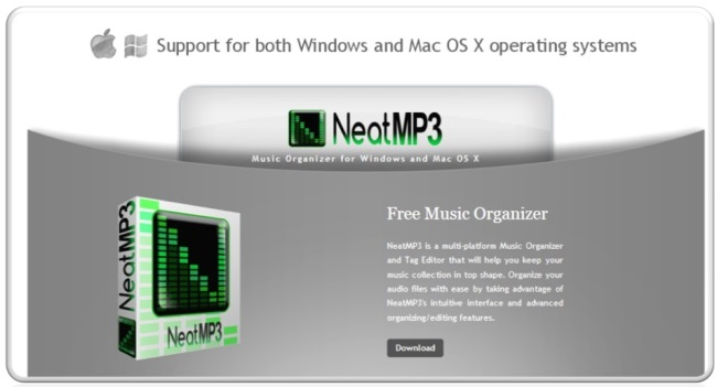 NeatMP3 Pro 1.2.1 (Windows / MacOSX)