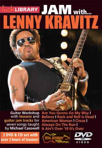 Lick Library - Jam With Lenny Kravitz 2 DVD (2013)
