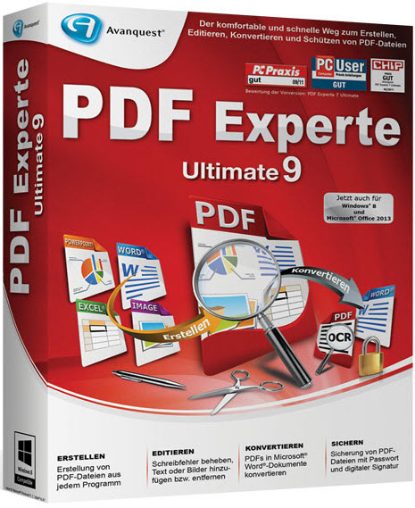 Avanquest PDF Experte 9.0.270 Ultimate GERMAN