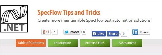 SpecFlow Tips and Tricks