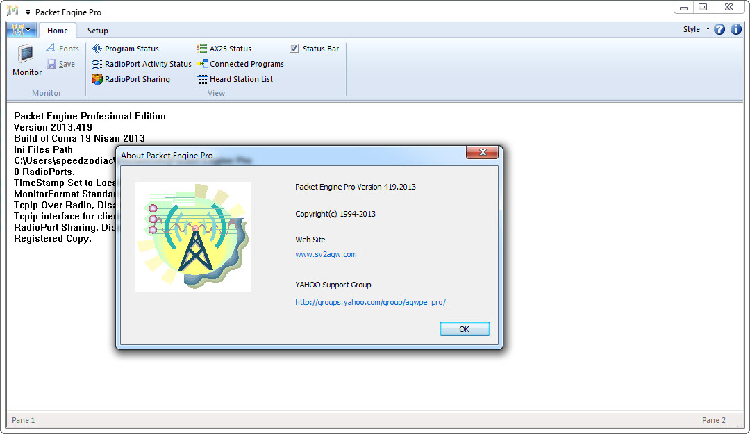 Packet Engine Pro 2013.419