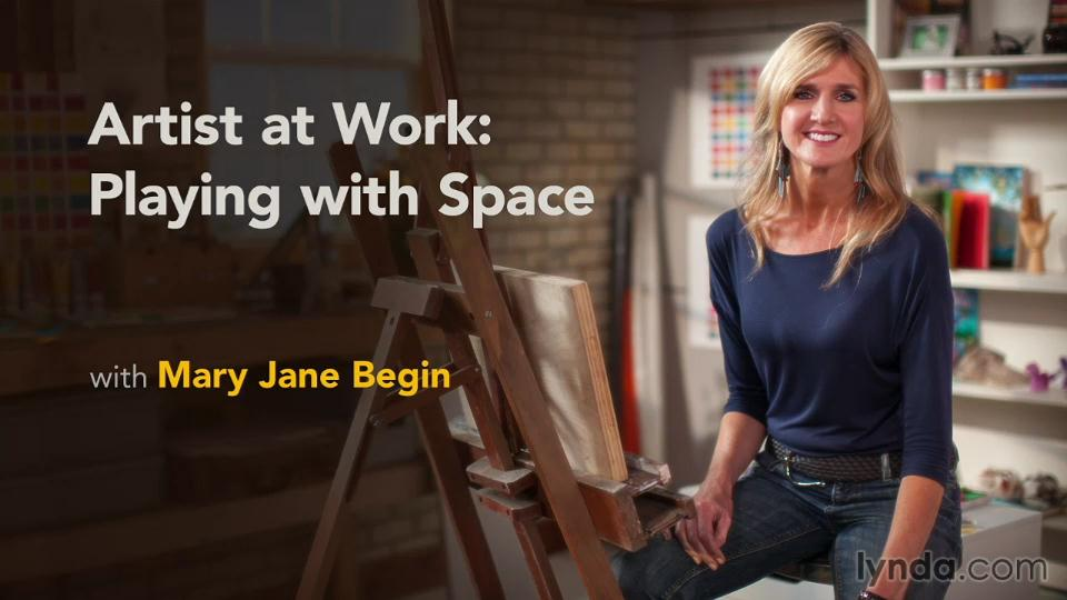 Artist at Work: Playing with Space