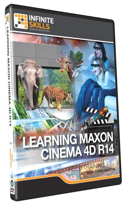 InfiniteSkills -  Learning Maxon Cinema 4D R14 Training Video