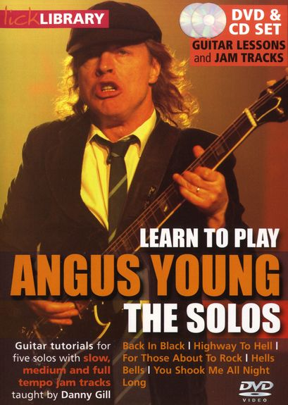 Lick Library - Learn to play Angus Young - The Solos