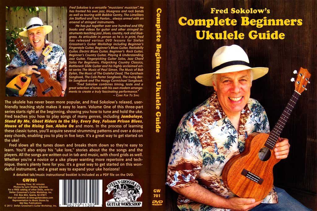 Grossman Guitar Workshop - Fred Sokolow - Beginners Ukulele - DVD (2012)
