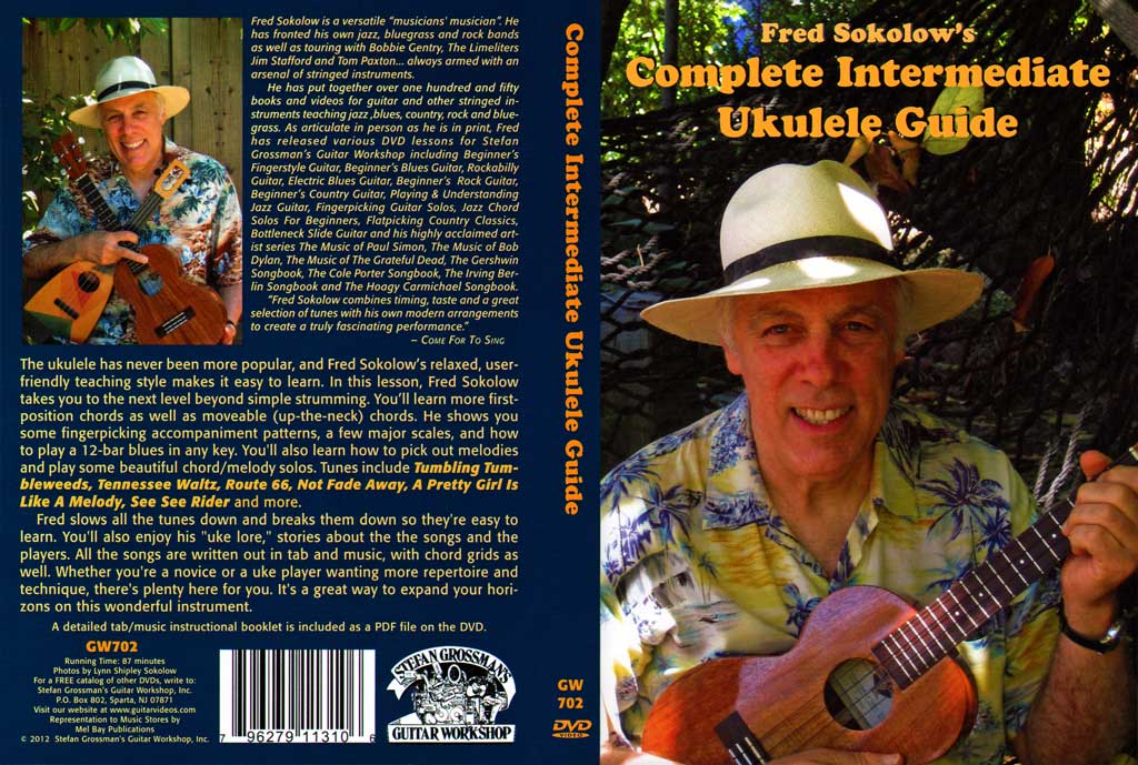 Grossman Guitar Workshop - Fred Sokolow - Intermediate Ukulele - DVD (2012)