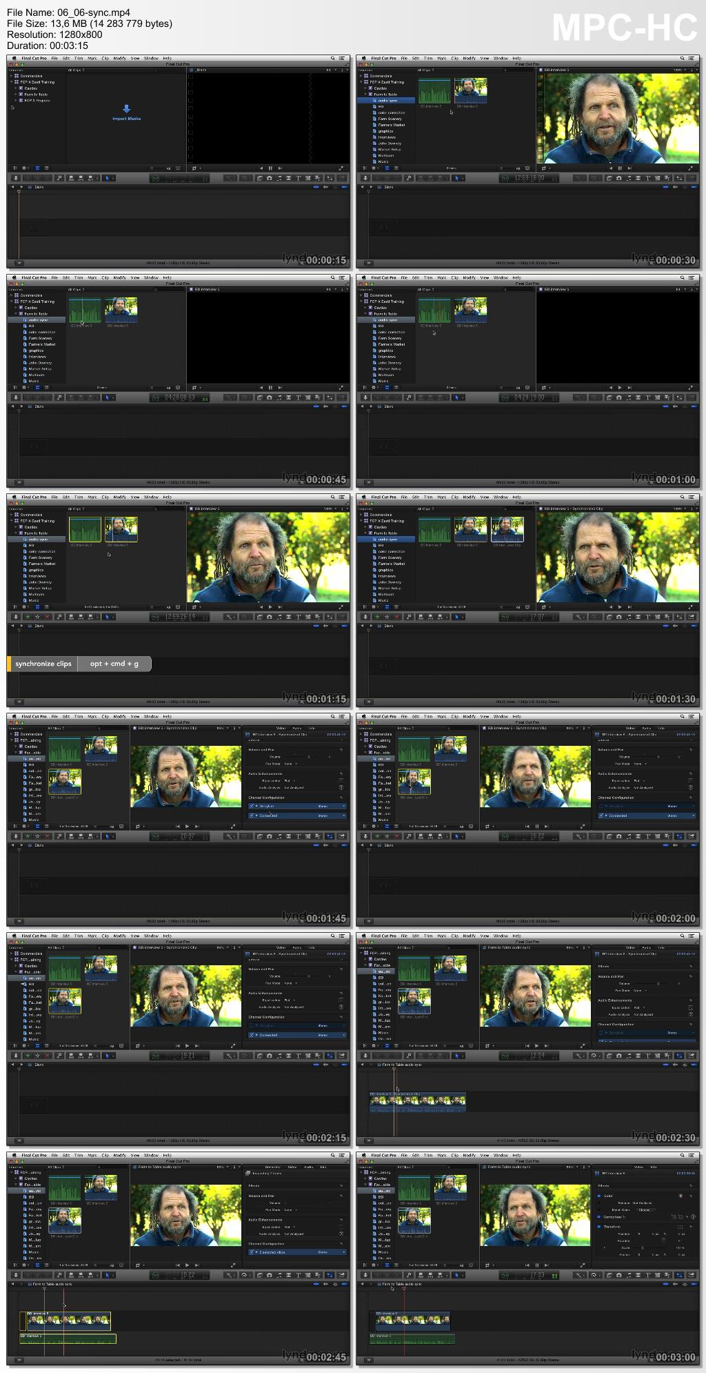 Final Cut Pro X 10.1.1 Essential Training