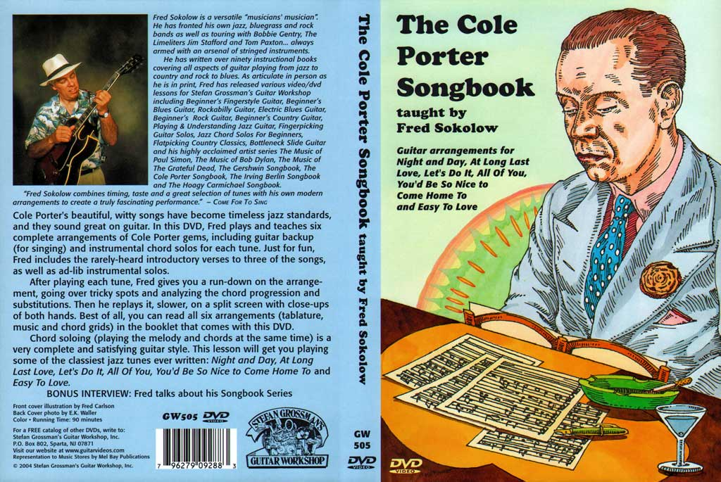 Grossman Guitar Workshop - Fred Sokolow - Cole Porter Songbook -  DVD (2004)