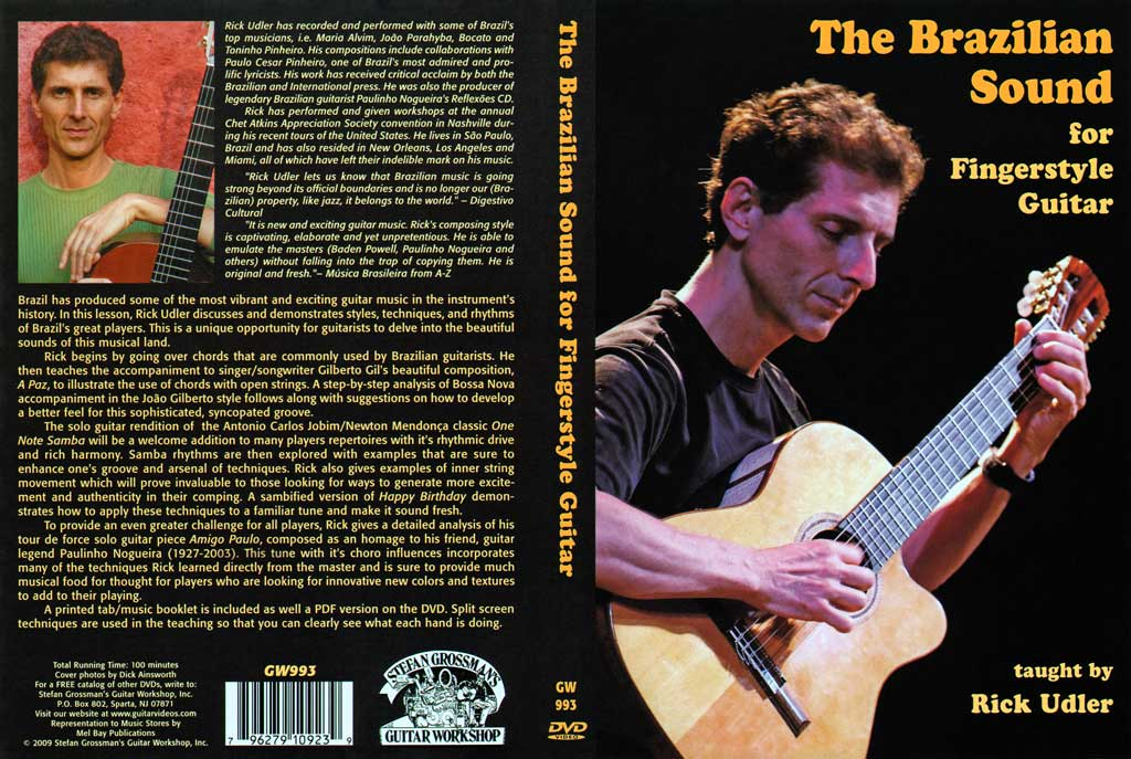 Grossman Guitar Workshop - Rick Udler - The Brazilian Sound - DVD (2009)