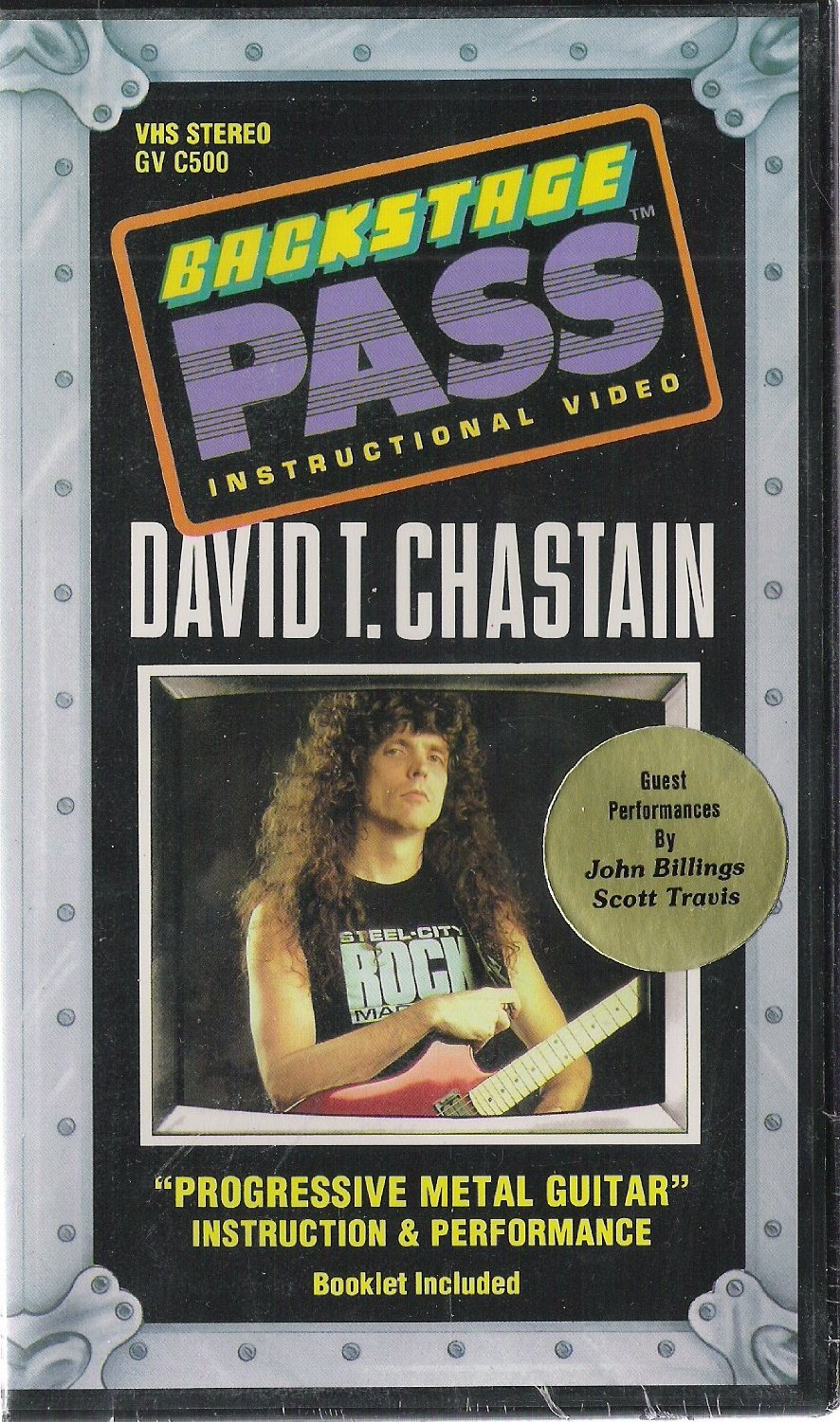 David Chastain - Progressive Metal Guitar (1990)
