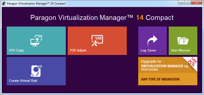 Paragon Virtualization Manager 14 Compact 10.1.21.165