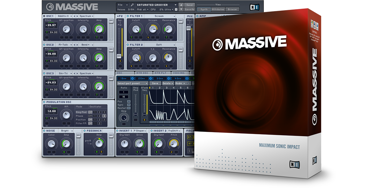 Native Instruments Massive 1.4.0 Update