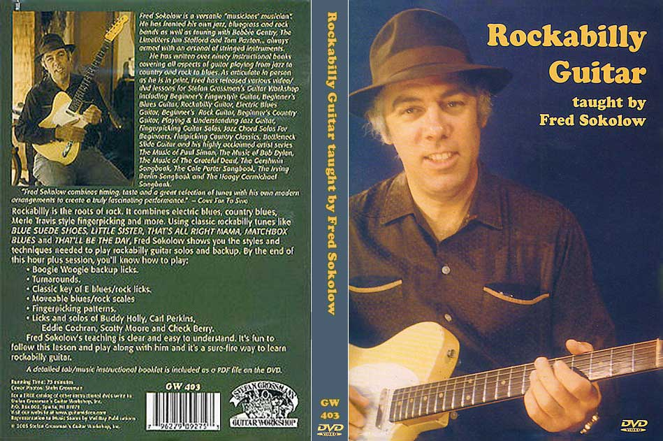Grossman Guitar Workshop - Fred Sokolow - Rockabilly Guitar - DVD (2005)[REPOST]