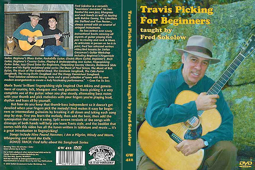 Grossman Guitar Workshop - Fred Sokolow - Travis Picking for Beginners - DVD (2004)[REPOST]