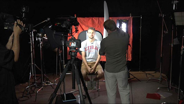 Lighting a Video Interview