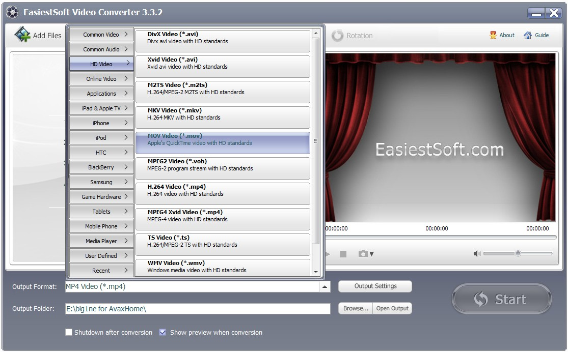 EasiestSoft Video Converter 3.3.2