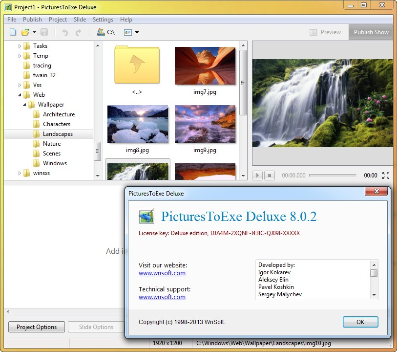 PicturesToExe Deluxe & Essentials 8.0.2