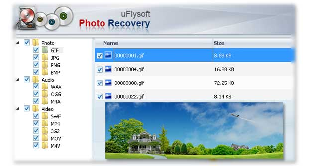 uFlysoft Photo Recovery for Windows 1.5.0.2