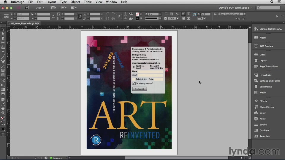 InDesign Insider Training: Interactive PDFs (2013) [repost]
