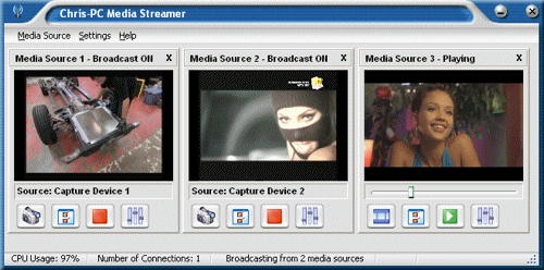 ChrisPC Media Streamer 1.60