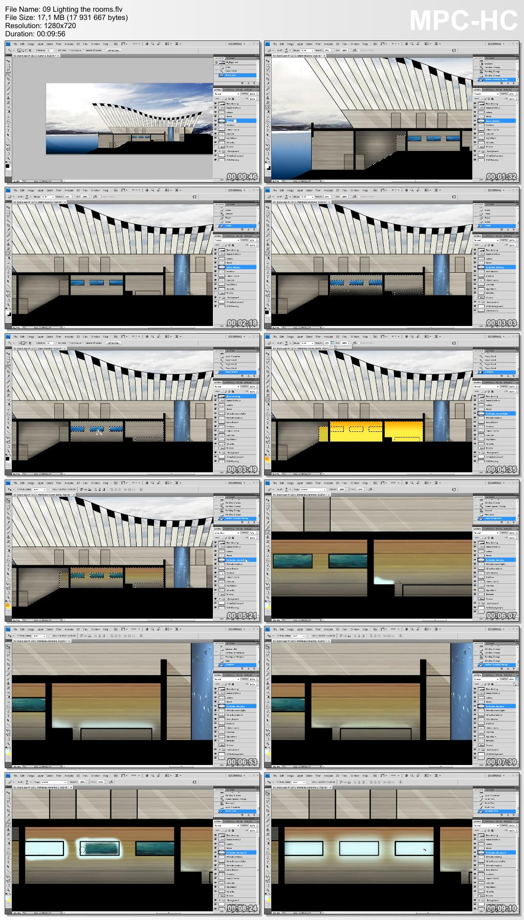 Dixxl Tuxxs - Drawing a Building Cross Section in Photoshop and AutoCAD