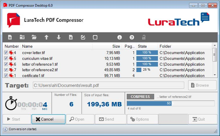 LuraTech PDF Compressor Desktop 6.1.2.5