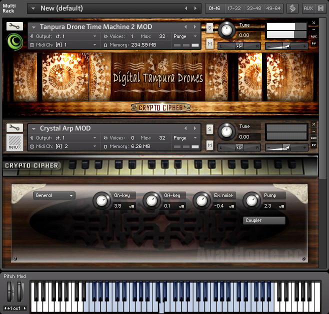 Cryptocipher Bollywood Harmoniums KONTAKT