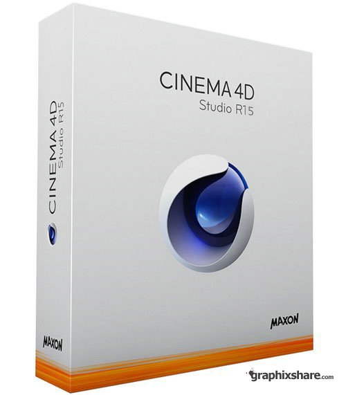 Maxon Cinema 4D Studio R15.057 with VRAY 1.8.1 DVD Retail (Mac OS X)