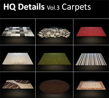 HQ Details – Vol.3 Carpets