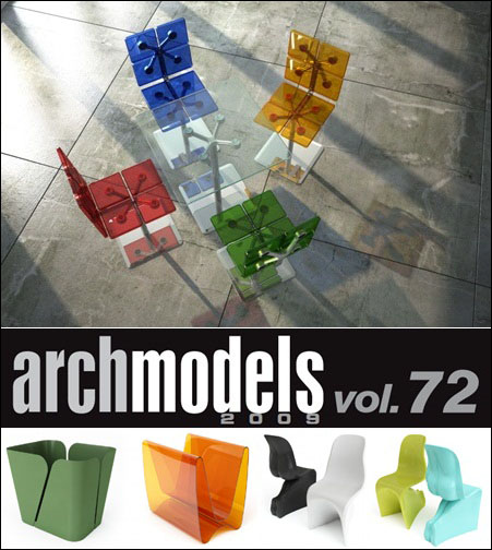 Evermotion – Archmodels vol. 72 (FBX)
