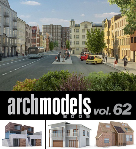 Evermotion – Archmodels vol. 62 (FBX)