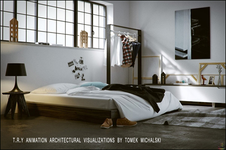 T.R.Y Animation Architectural Visualizations by Tomek Michalski