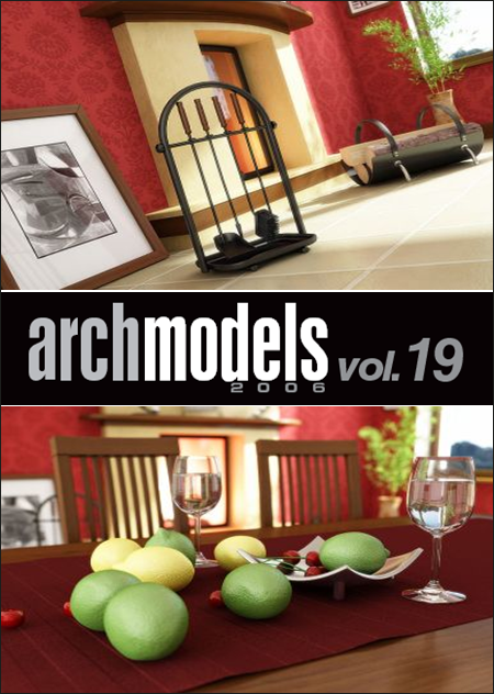 Evermotion – Archmodels vol. 19 (C4D)